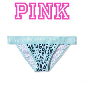 COMING🔜PINK•Logo Bikini•Cool Blue Leopard•Lg